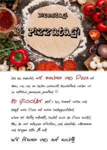 Dienstag Pizzatag